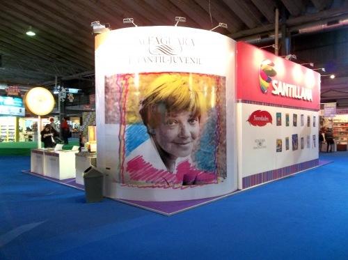 Foto que tomé en la 22º Feria del Libro Infantil y Juvenil. Buenos Aires, Argentina, 2012