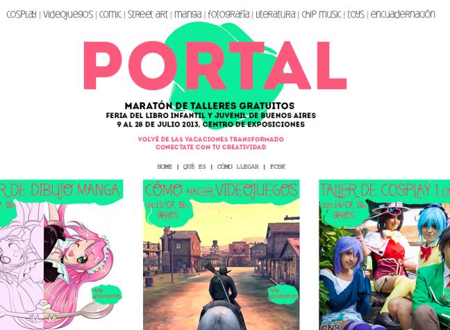 portal de talleres gratuitos