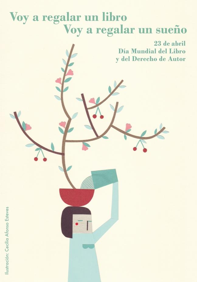 Afiche Dia Mundial del Libro 2014