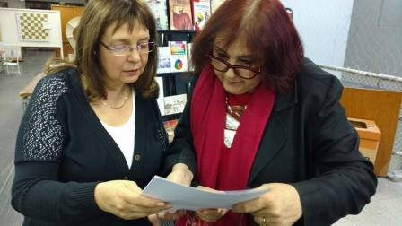 2017 Laura Roldan recibe Resolucion Foto de Maria Luisa Miretti